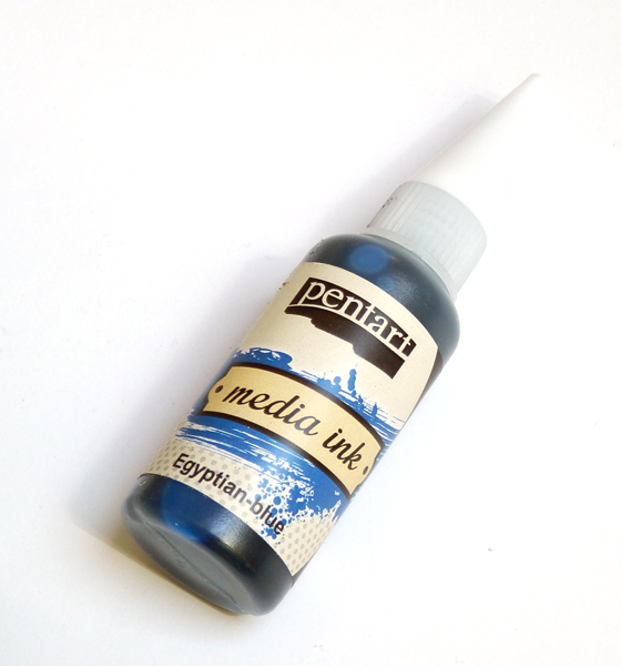 Media atrament 20ml Egyptian blue-tm. modrá