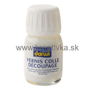 DARWI lepidlo s lakom na decoupage 30ml